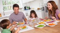 Kids healthy lifestyle and proper healthy diet